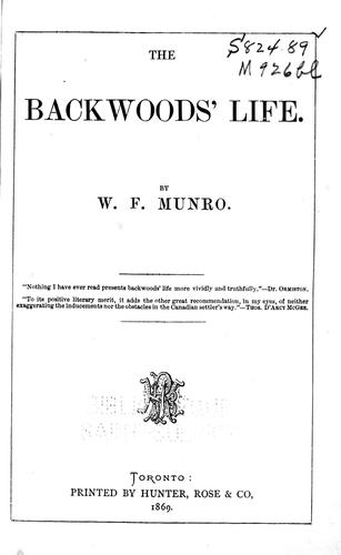 Download The backwoods' life