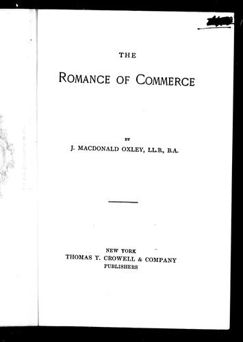 The romance of commerce