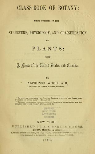 Class-book of botany
