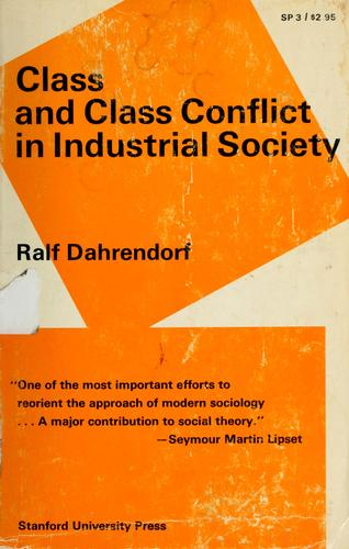 Download Class and class conflict in industrial society.