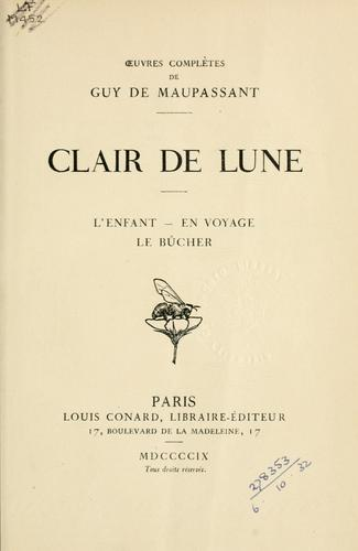 Download Clair de lune.