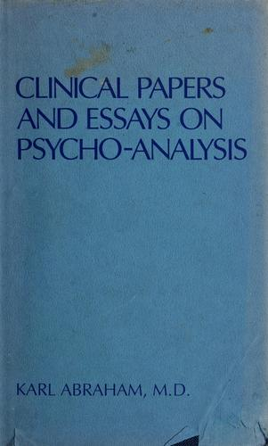 Download Clinical papers and essays on psycho-analysis