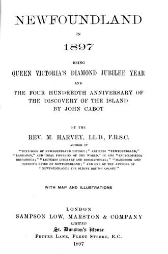 Download Newfoundland in 1897