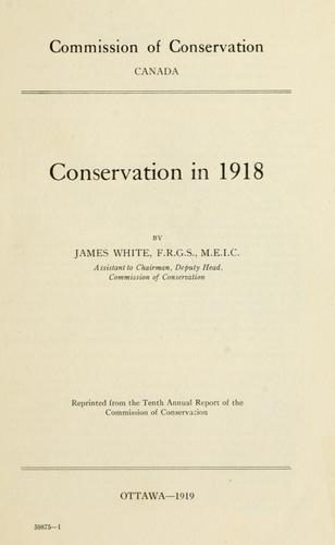 Download Conservation in 1918
