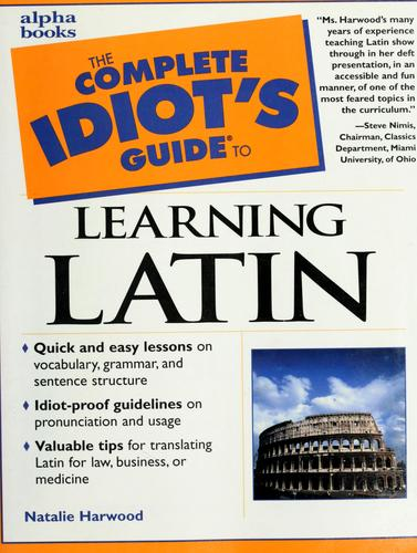 Download The complete idiot's guide to learning Latin