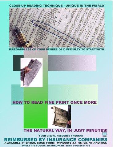 Download How to read fine print once more – Special close-up reading technique