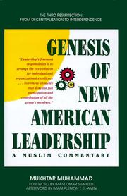 Thumbnail of Genesis of New American Leadership: A Muslim Commentary