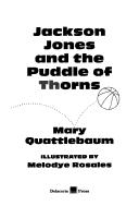 Download Jackson Jones and the puddle of thorns