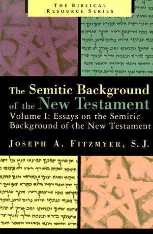Download Essays on the Semitic Background of the New Testament