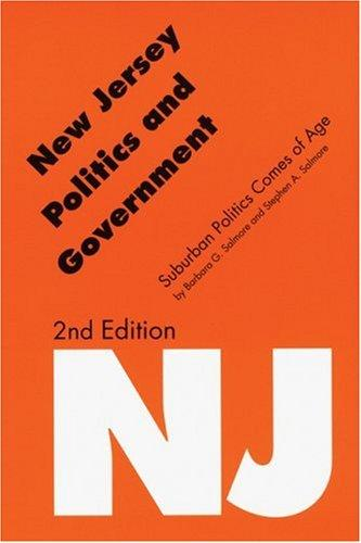 New Jersey politics and government