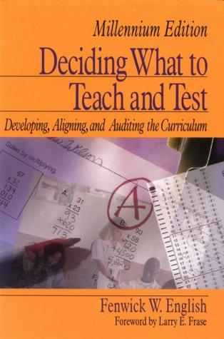 Download Deciding what to teach and test