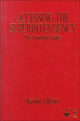 Accessing the Superintendency