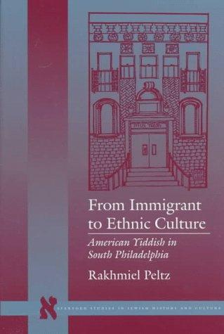 Download From immigrant to ethnic culture