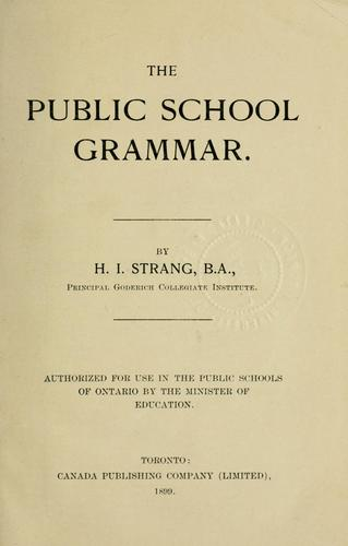 The public school grammar
