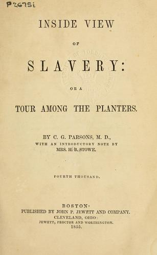 Download Inside view of slavery