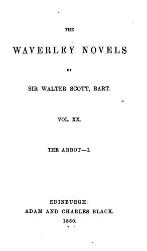 WAVERLEY NOVELS by Sir Walter Scott, BART