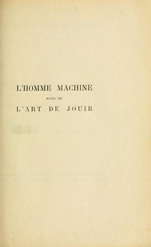 Download L' homme machine
