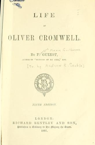 Download Life of Oliver Cromwell