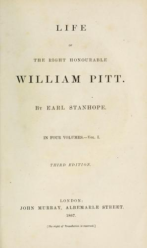 Download Life of the Right Honourable William Pitt