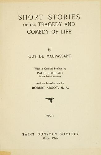 Download The life work of Henri René Guy de Maupassant