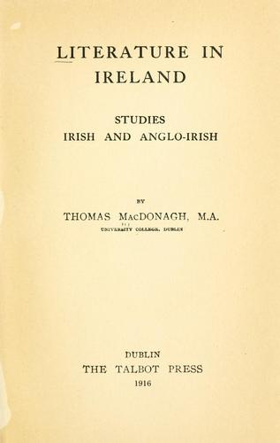 Download Literature in Ireland