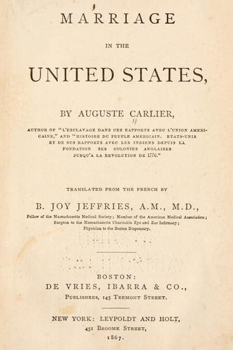 Download Marriage in the United States
