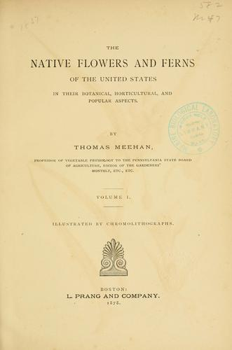 Download The native flowers and ferns of the United States in their botanical, horticultural and popular aspects