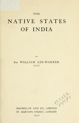 Download The native States of India.