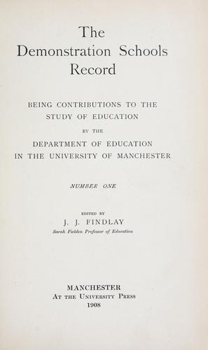 Download The demonstration schools record
