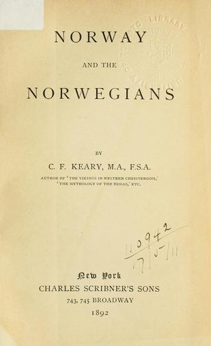Norway and the Norwegians.