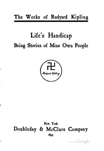 Download Life's Handicap: Being Stories of Mine Own People