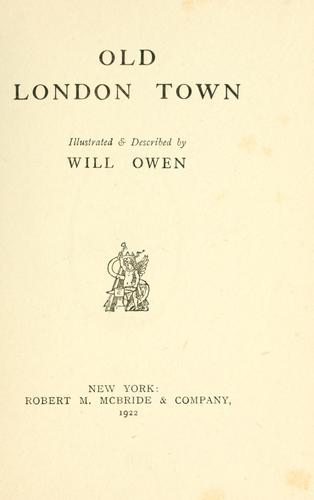 Download Old London town