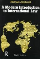 Download A modern introduction to international law