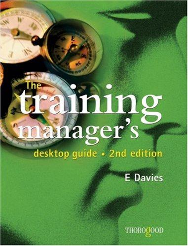 Download The Training Manager's Desktop Guide