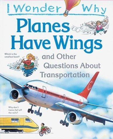 Download I wonder why planes have wings and other questions about transport