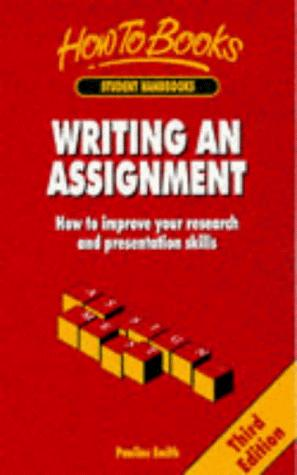 Download Writing an Assignment