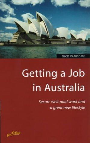 Download Getting a Job in Australia