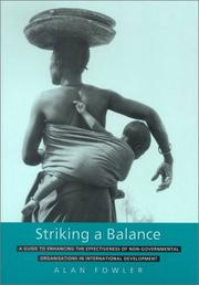 Striking A Balance: A Guide To Enhancing The Effectiveness Of Non-Governmental Organisations In International Development PDF Download