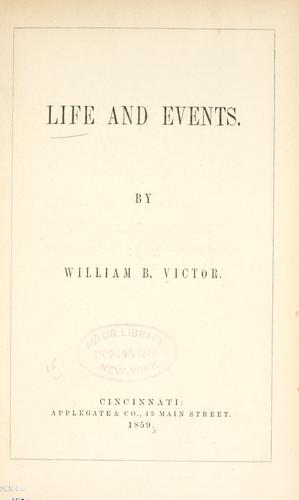 Download Life and events.