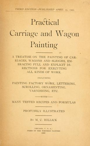 Download Practical carriage and wagon painting