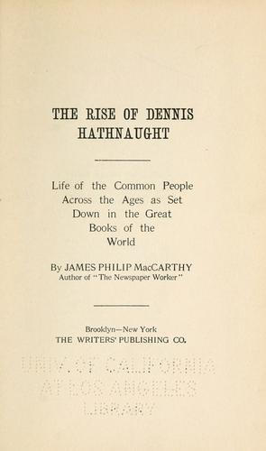 Download The rise of Dennis Hathnaught