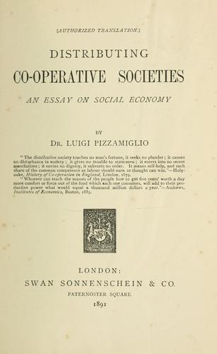 Download Distributing co-operative societies