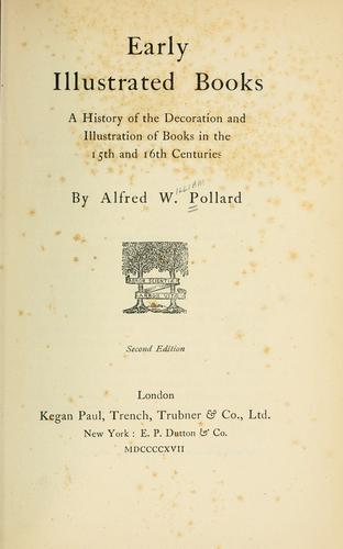 Download Early illustrated books