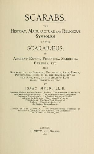 Scarabs.