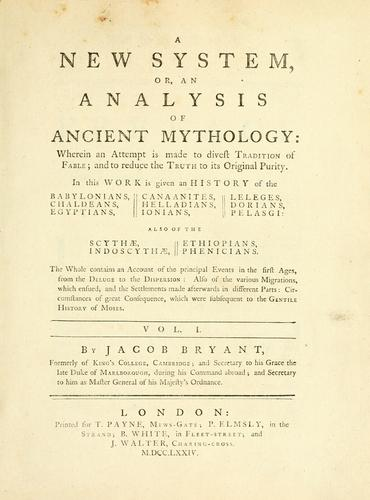 Download A new system, or, An analysis of ancient mythology