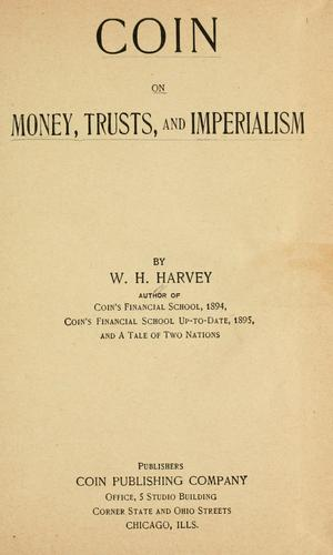 Download Coin on money, trusts, and imperialism