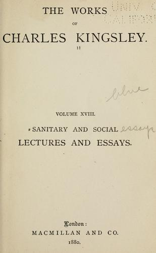 Download Sanitary and social lectures and essays.