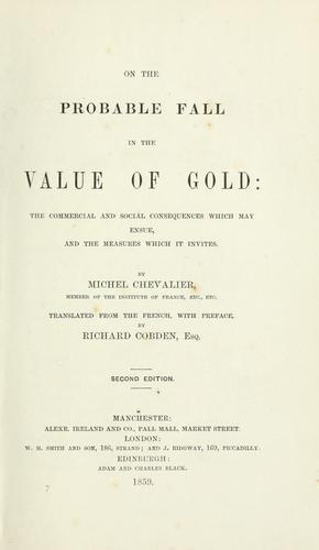 Download On the probable fall in the value of gold