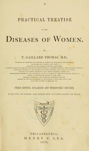 Download A practical treatise on the diseases of women.