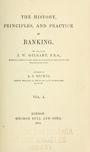 History, principles & practice of banking